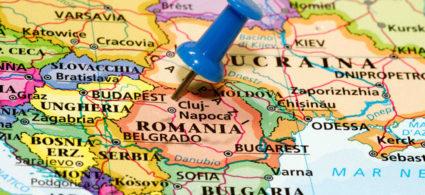 Mappa della Romania